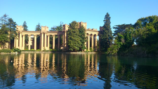 Palace of Fine Arts à San Francisco