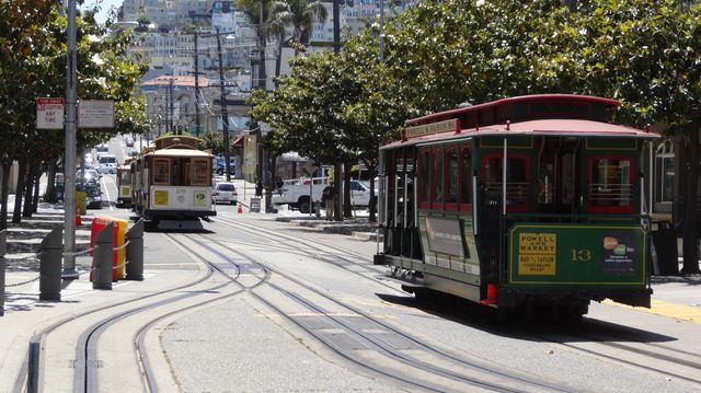 Les cable cars de San Francisco