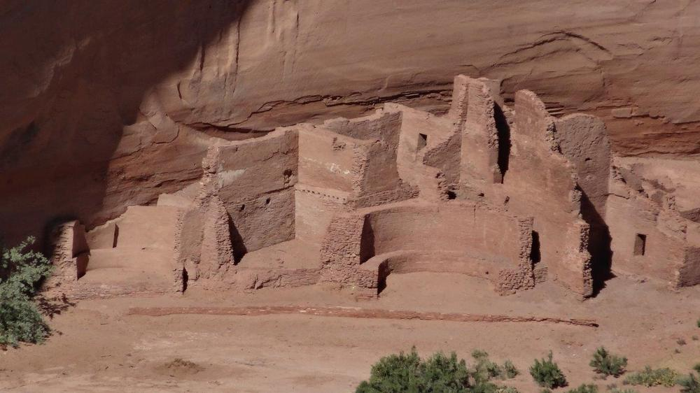 Canyon de Chelly : le village indien
