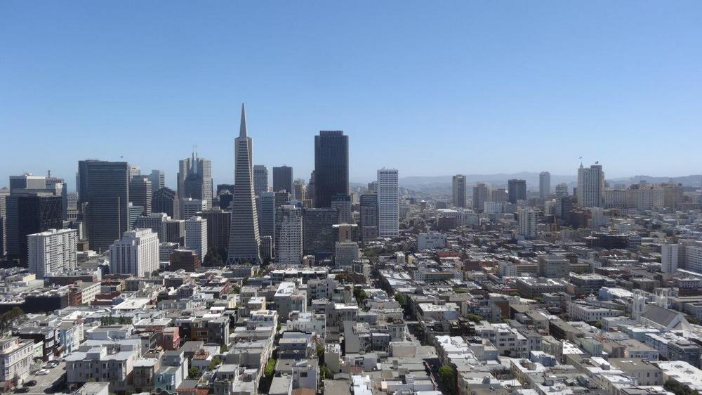 San Francisco depuis Coit Tower