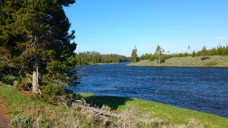 Firehole River à Yellowstone