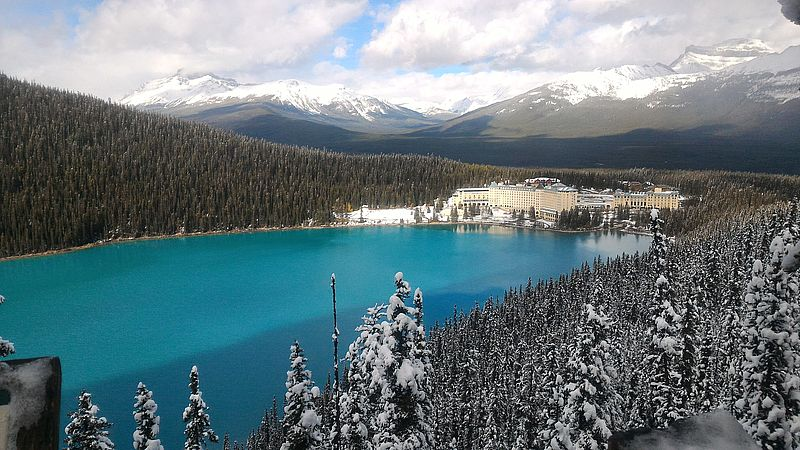 Lake Louise depuis Fairview